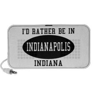 I d Rather Be in Indianapolis Notebook Speaker