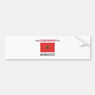 I d Rather Be In MOROCCO Bumper Sticker