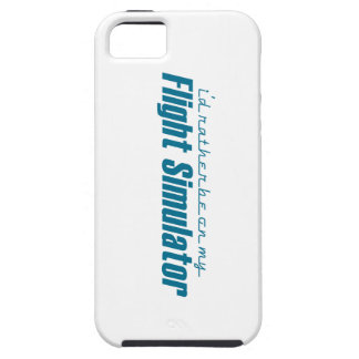 I d Rather Be on my Flight Simulator iPhone 5 Cases