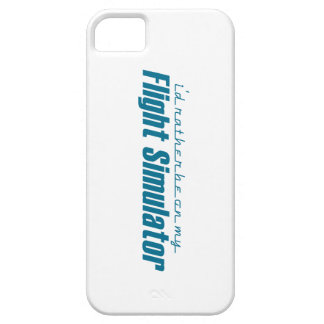 I d Rather Be on my Flight Simulator iPhone 5 Covers