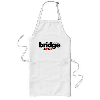 I d Rather Be Playing Bridge apron - choose style