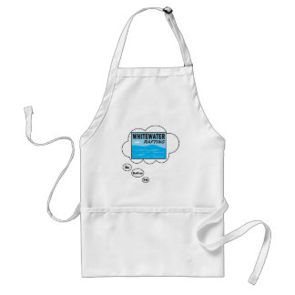 I d rather be Rafting Apron