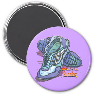I d Rather Be Running _ Sneakers Fridge Magnets