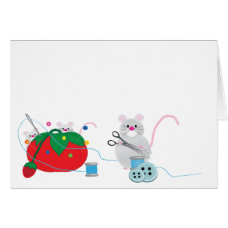I d rather be sewing cards