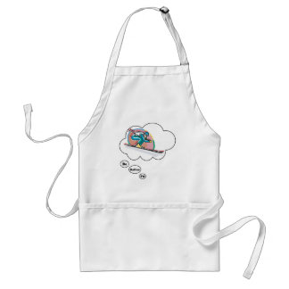 I d rather be Skiing 2 Apron