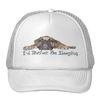 I d Rather Be Sleeping Hat