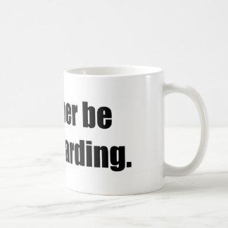 I d Rather Be Snowboarding Coffee Mug