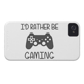 I d Rather Be Video Gaming iPhone 4 Cases