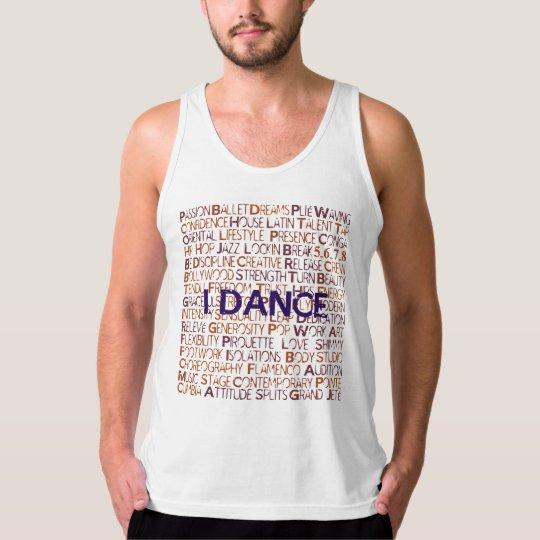 I.Dance - American Apparel White Tank for Men.