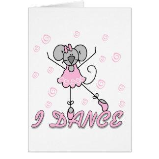 I Dance Mouse Ballet Card