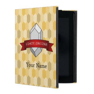 I Date Zircons Banner iPad Covers