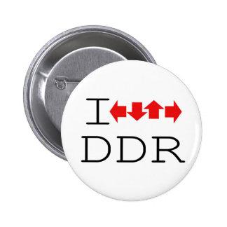 I DDR 6 CM ROUND BADGE