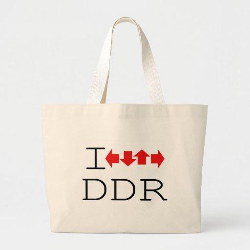 I DDR CANVAS BAG