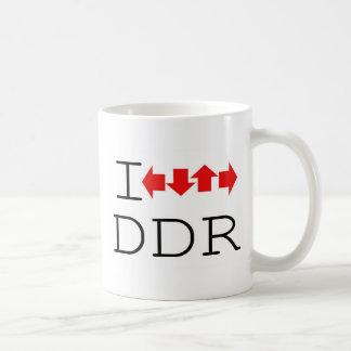 I DDR BASIC WHITE MUG