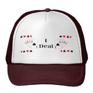 """""""I DEAL"""" Poker Cap"""