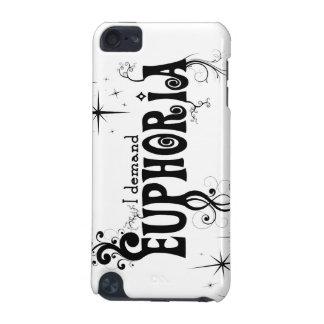 I Demand Euphoria - Black Swirls, Stars, Fireworks iPod Touch (5th Generation) Case
