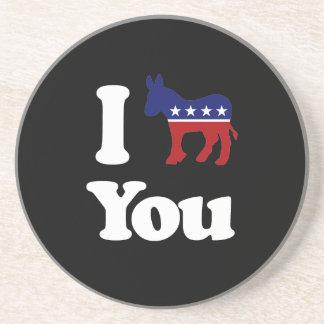 I Democrat You - Coaster