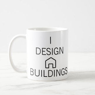 I Design Buildings Mug