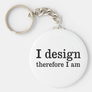 I Design Key Ring