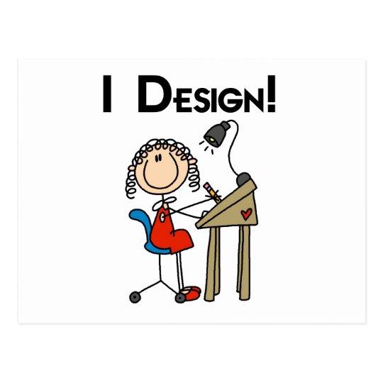 I Design Tshirts and Gifts Postcard