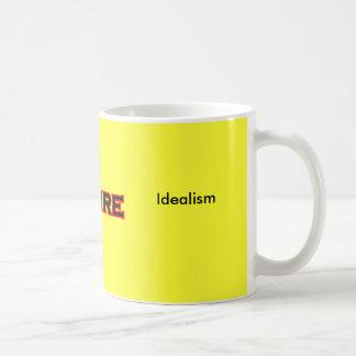 I Desire Idealism Basic White Mug