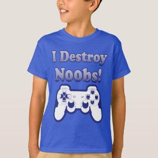 I Destroy N00bs Shirt