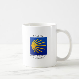 I Did the Camino de Santiago Coffee Mug