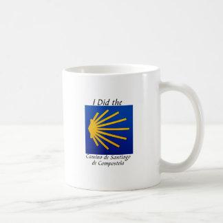 I Did the Camino de Santiago Classic White Coffee Mug