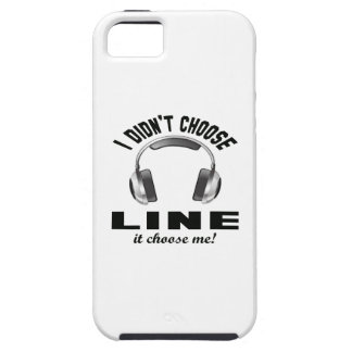 I didn't choose Line dance. iPhone 5 Cover
