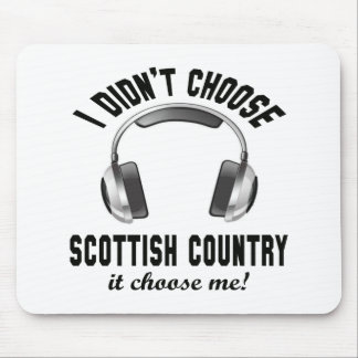 I didn't choose Scottish Country dance. Mouse Pad