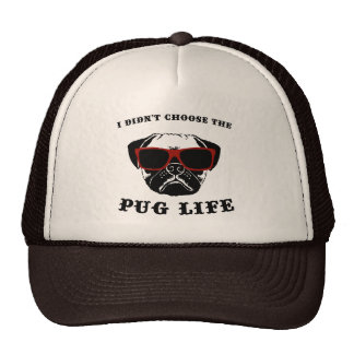 I Didn't Choose The Pug Life Cool Dog Cap