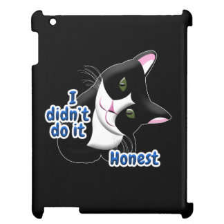 I didn't do it Cat Case For The iPad