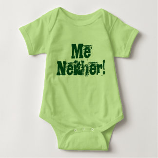 I didn't do it! Me Neither! Twin set (Part 2 of 2) Baby Bodysuit