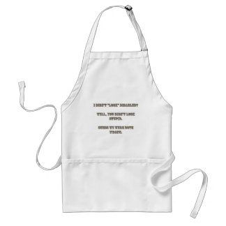 """I didn't """"look"""" disabled? Rosewood Apron"""