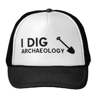I Dig Archaeology Trucker Hat