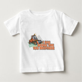 I Dig Being A Big Brother Baby T-Shirt