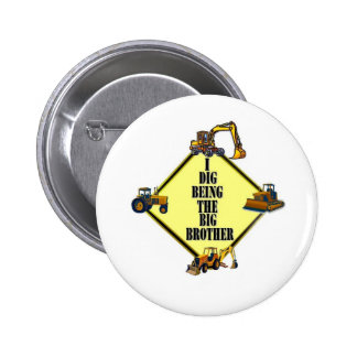 i dig being the Big Brother Pinback Buttons