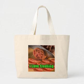 I Dig Cooking Recipes Canvas Bag