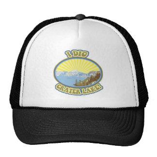 I Dig Crater Lake Trucker Hats