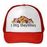 I Dig Daylilies Cap Trucker Hats