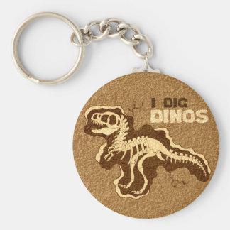 I Dig Dinos Key Ring