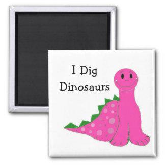 I Dig Dinosaurs Fridge Magnets