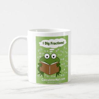 I Dig Fractions Mug