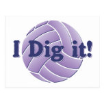 I dig it - Volleyball Postcards