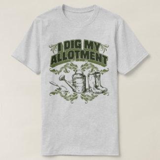 I Dig My Allotment Gardening Garden Humour T-Shirt