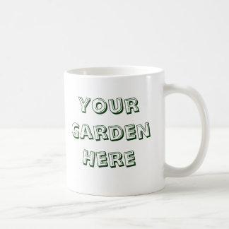 I Dig Plants Gardener Saying Basic White Mug