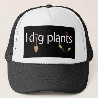 I Dig Plants Trucker Hat