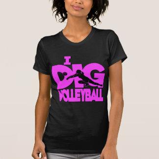 I Dig VB, hot pink T Shirt