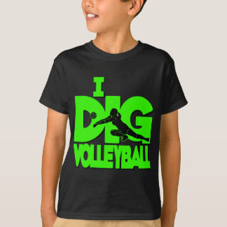 I Dig VB, neon green T-Shirt