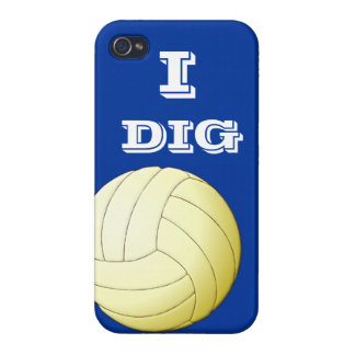 I Dig Volleyball  iPhone 4 iPhone 4/4S Cover
